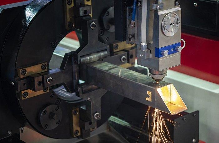 Laser-Rohrschneidmaschine