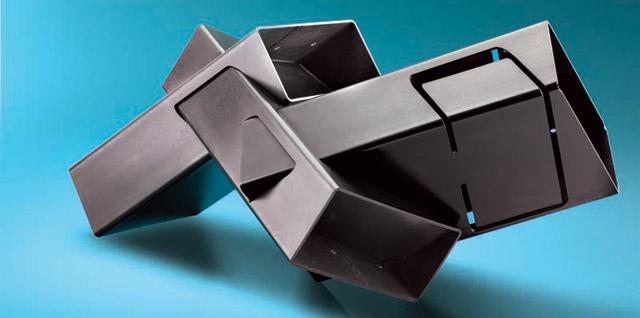 Die komplexe 3D-Form